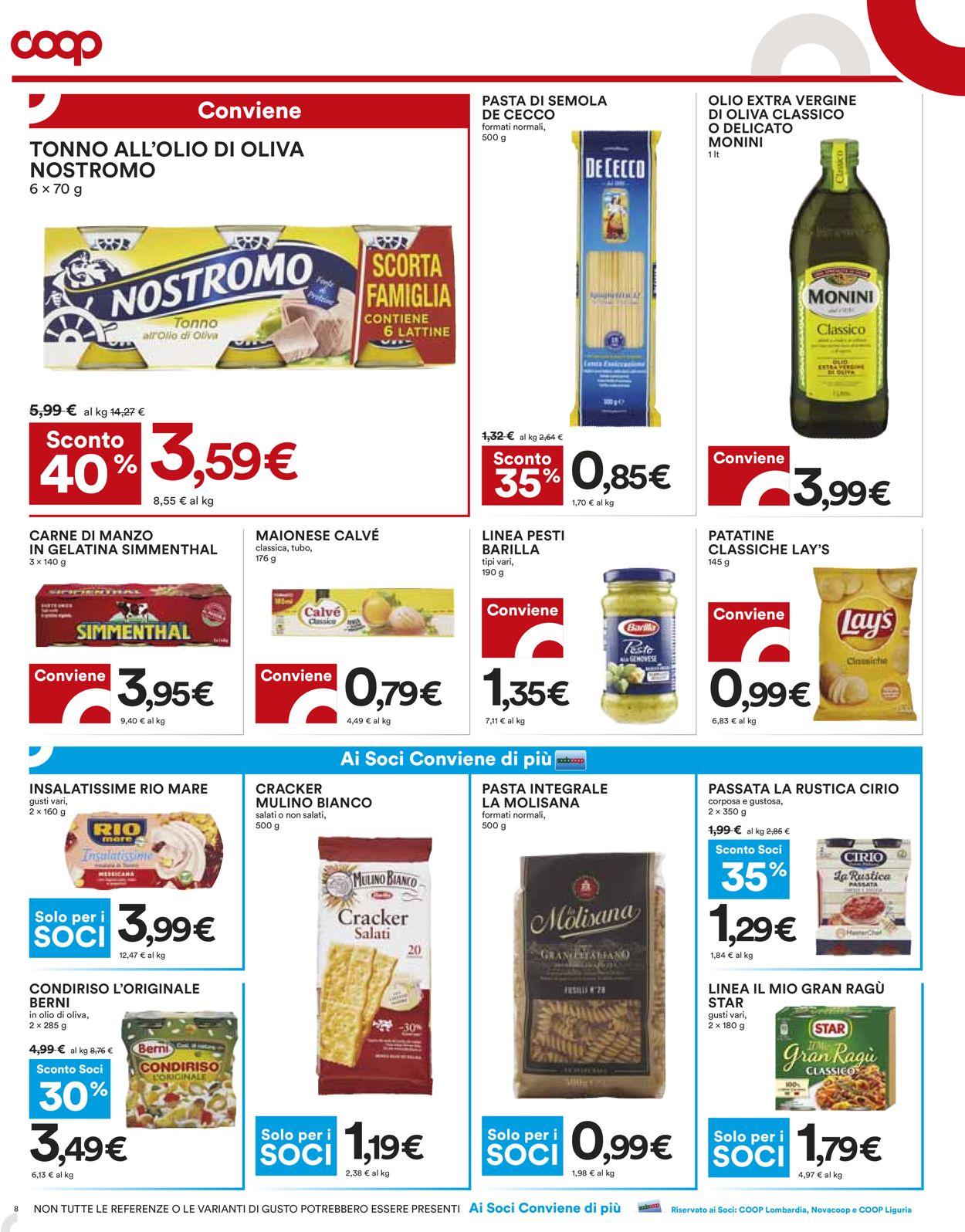Volantino Coop - Offerte 22/07-04/08/2021 (Pagina 8)