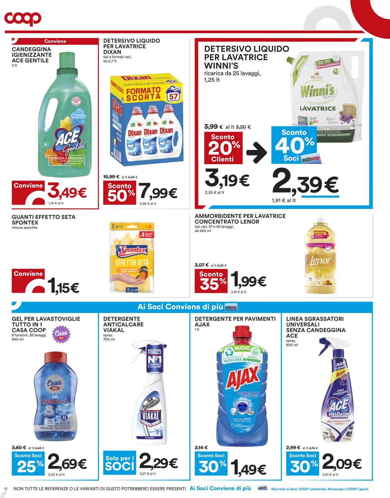 Volantino Coop - Offerte 22/07-04/08/2021 (Pagina 10)