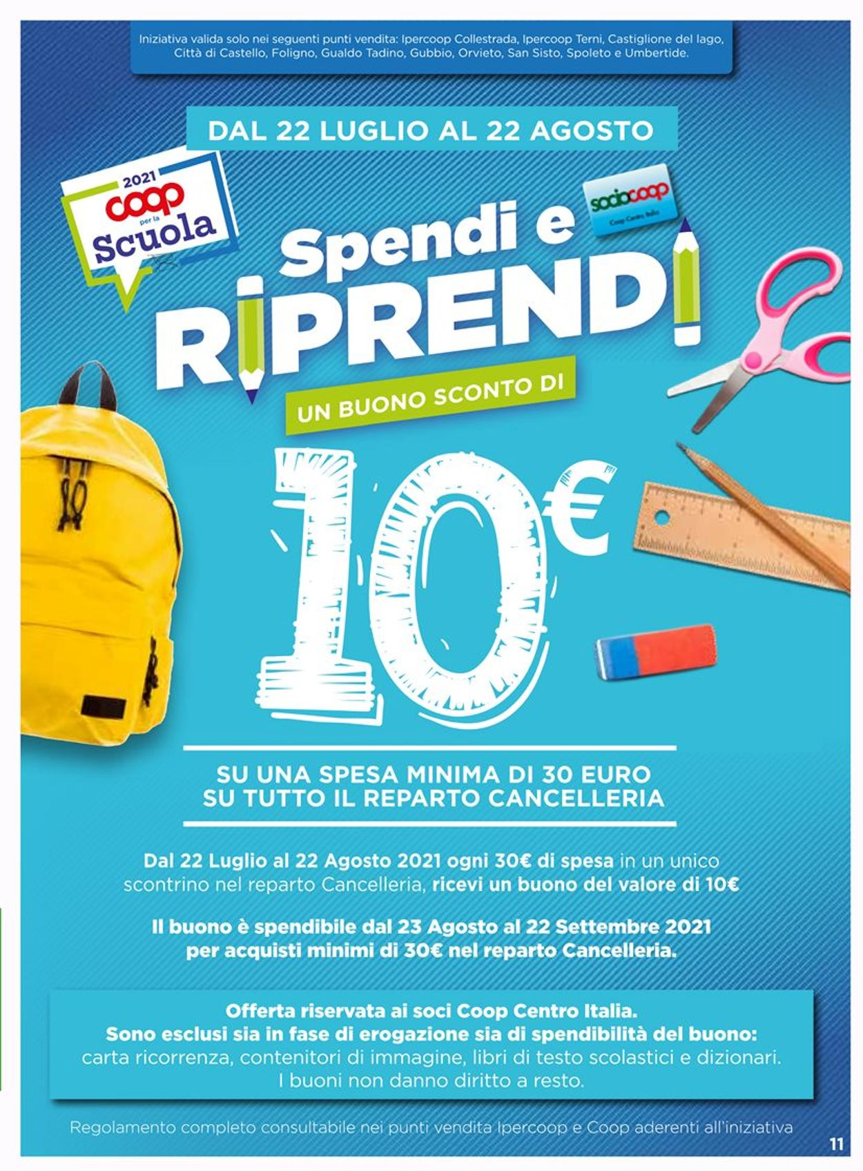 Volantino Coop - Offerte 29/07-11/08/2021 (Pagina 11)