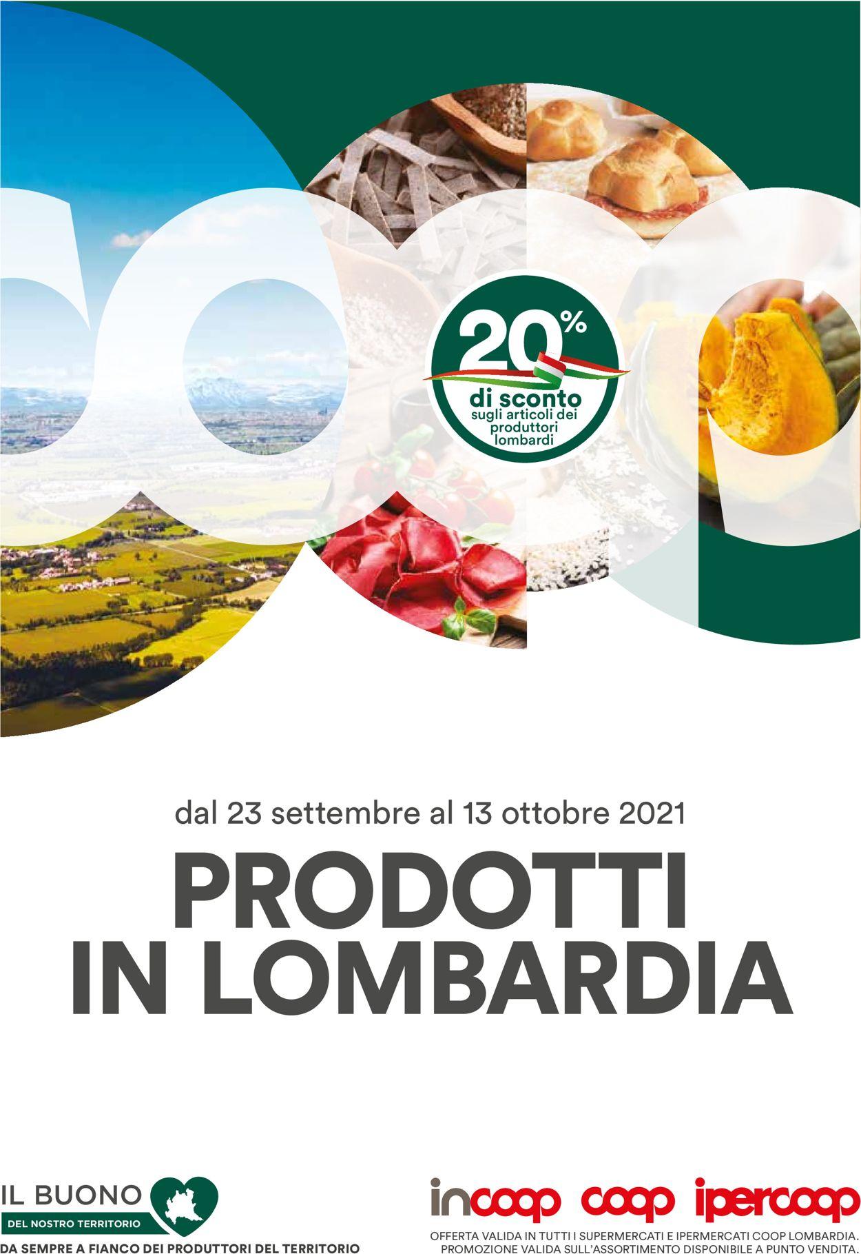 Volantino Coop - Offerte 23/09-13/10/2021