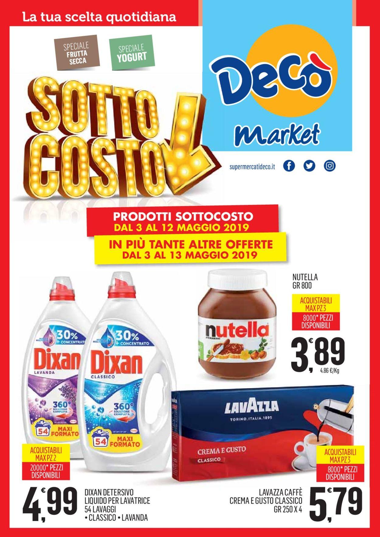 Volantino Deco - Offerte 03/05-13/05/2019