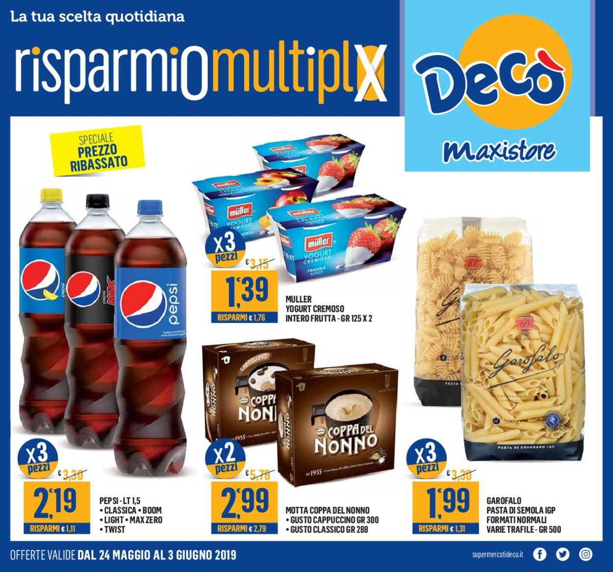 Volantino Deco - Offerte 24/05-03/06/2019