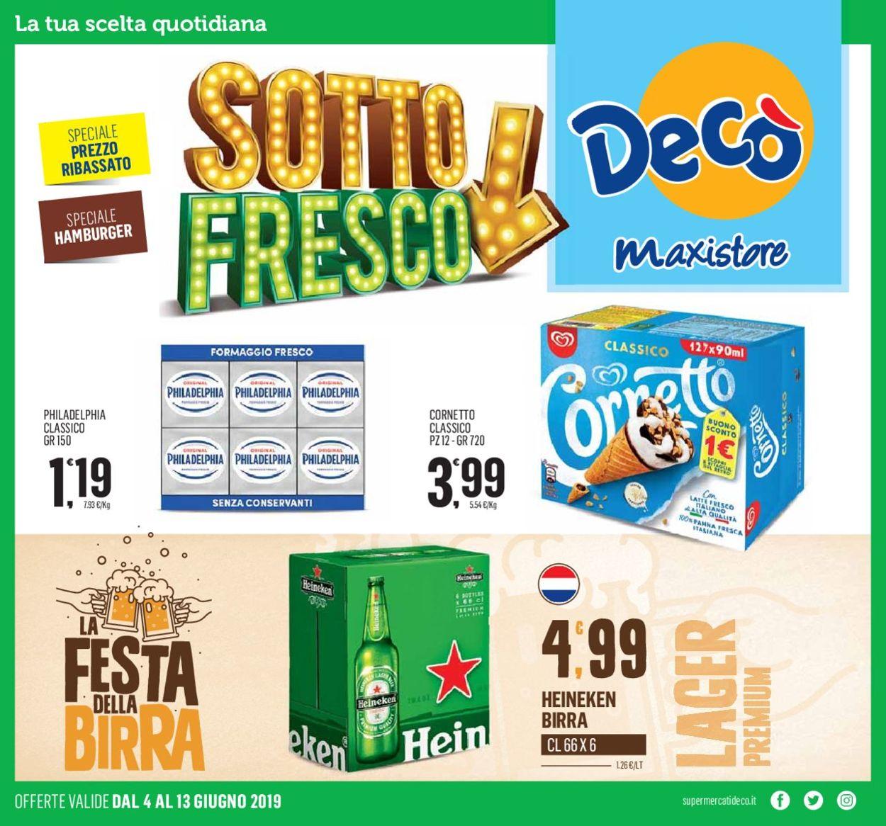 Volantino Deco - Offerte 04/06-13/06/2019