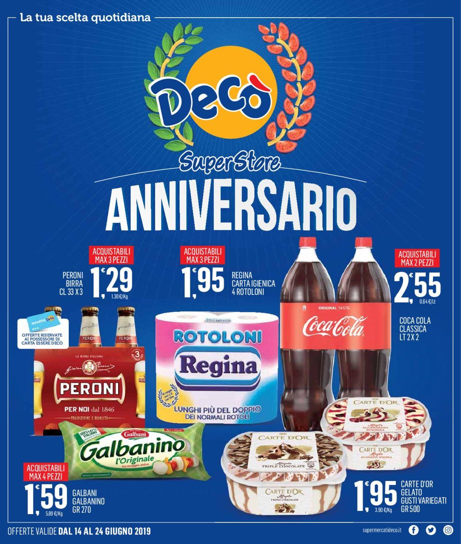 Volantino Deco - Offerte 14/06-24/06/2019