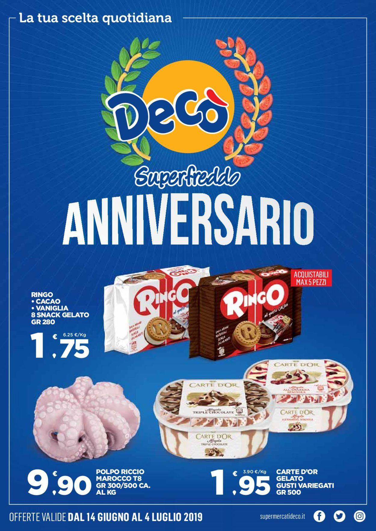 Volantino Deco - Offerte 14/06-04/07/2019