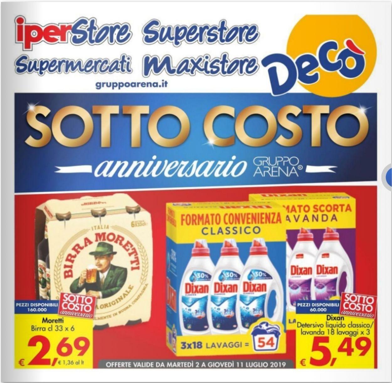 Volantino Deco - Offerte 02/07-11/07/2019