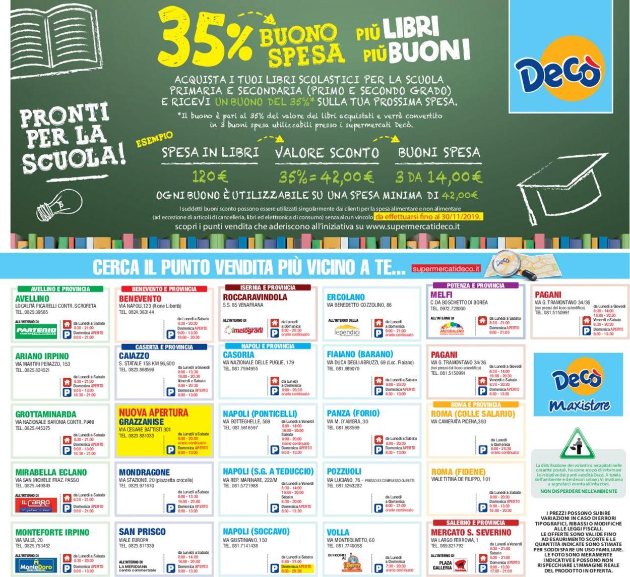 Volantino Deco - Offerte 16/08-26/08/2019 (Pagina 32)