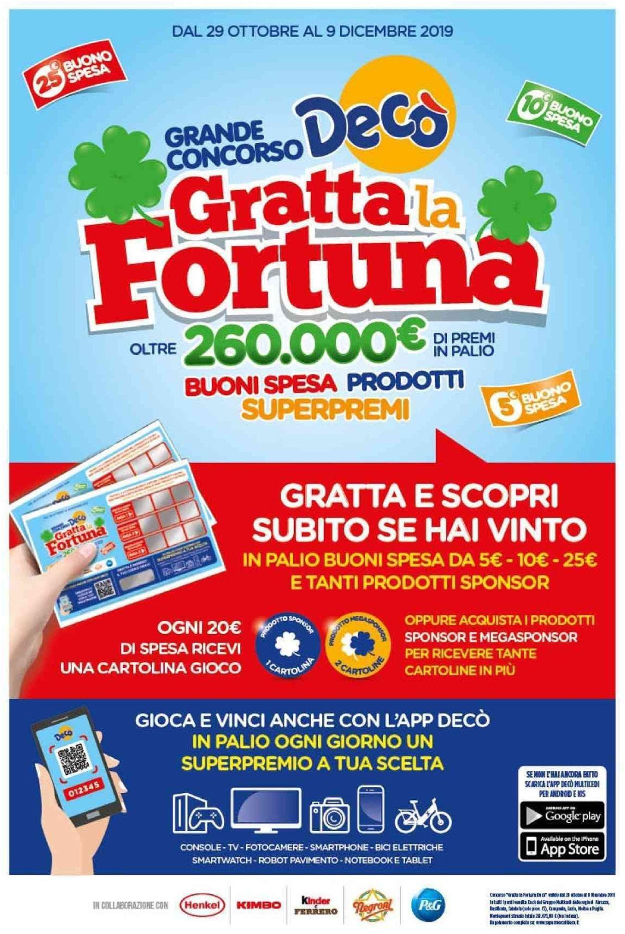 Volantino Deco - Offerte 29/10-07/11/2019 (Pagina 2)