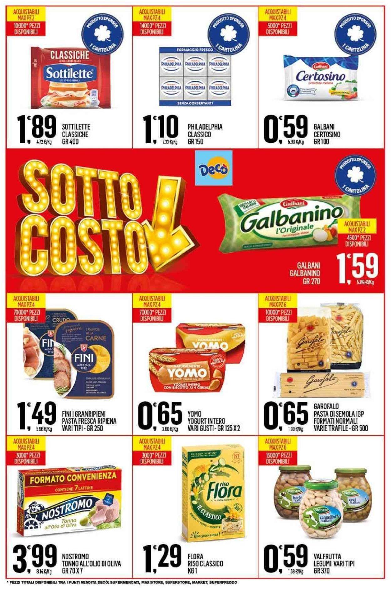 Volantino Deco - Offerte 29/10-07/11/2019 (Pagina 4)