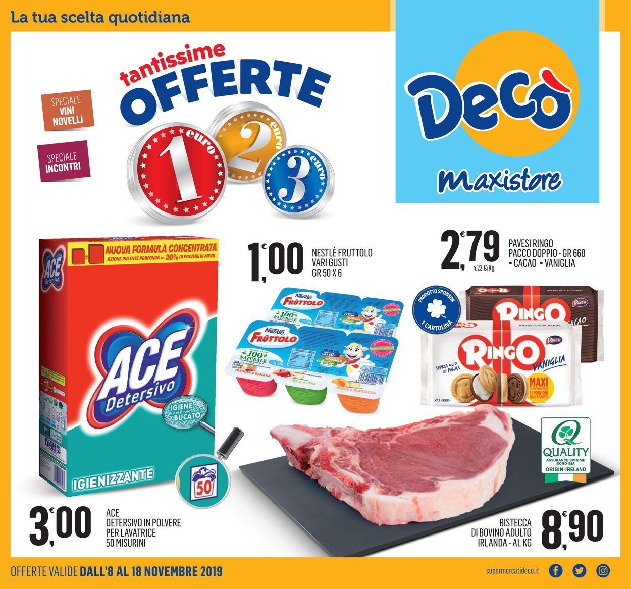Volantino Deco - Offerte 08/11-18/11/2019