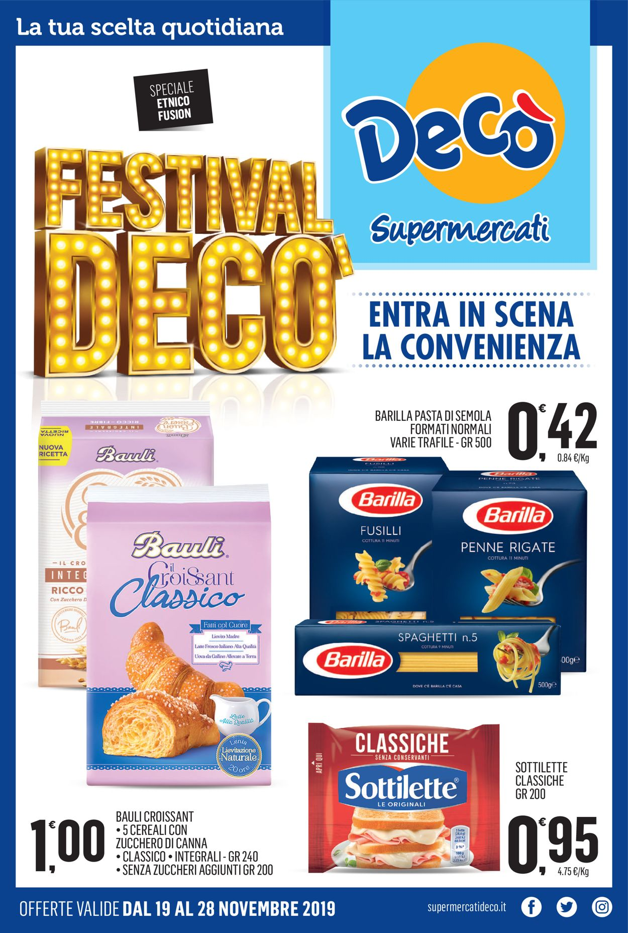 Volantino Deco - Offerte 19/11-28/11/2019