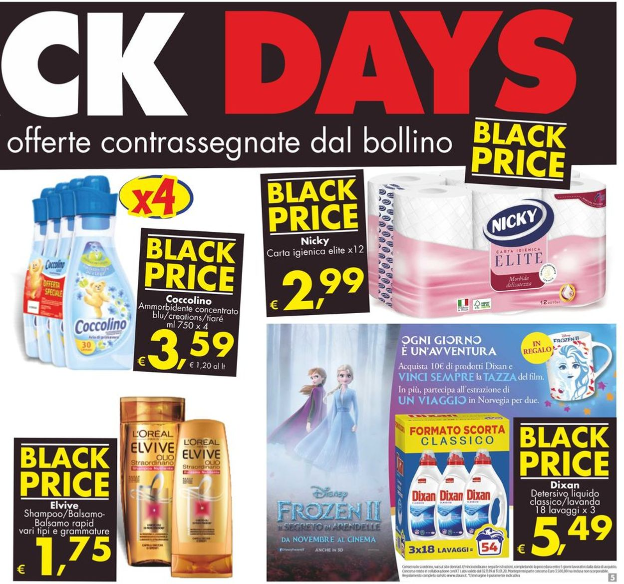 Volantino Deco - Black Friday 2019 - Offerte 29/11-05/12/2019 (Pagina 5)
