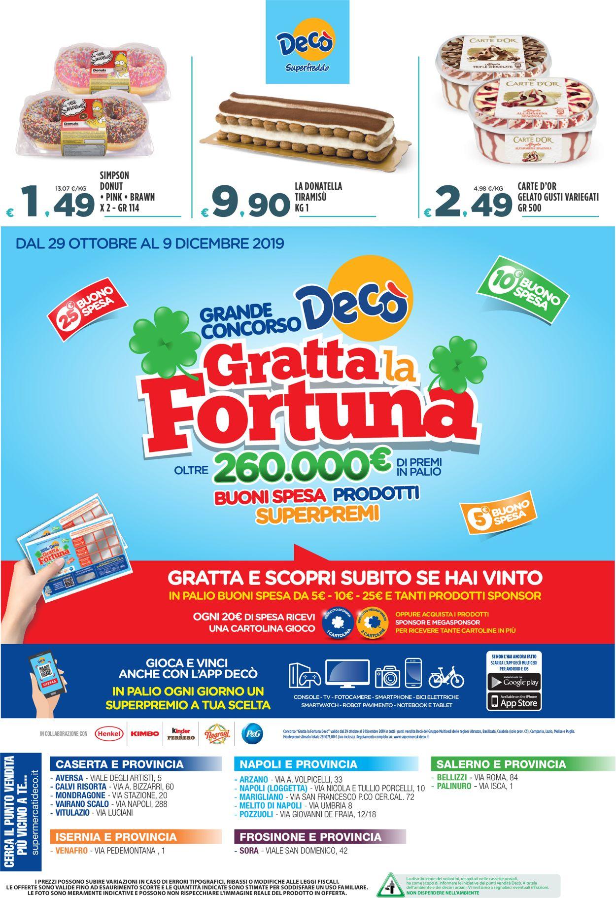 Volantino Deco - Offerte 29/11-09/12/2019 (Pagina 8)