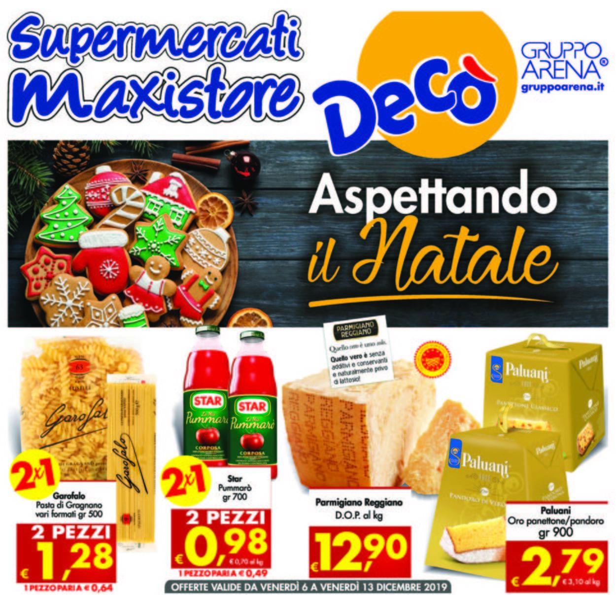 Volantino Deco - Offerte 06/12-13/12/2019