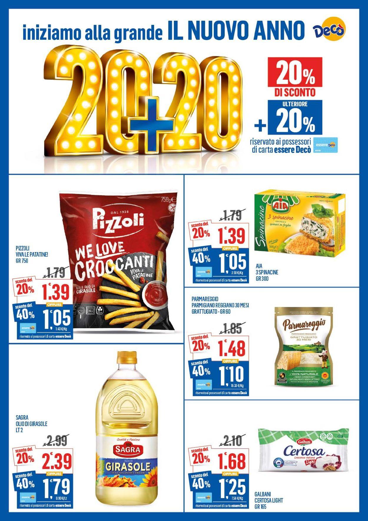 Volantino Deco - Offerte 07/01-16/01/2020 (Pagina 2)