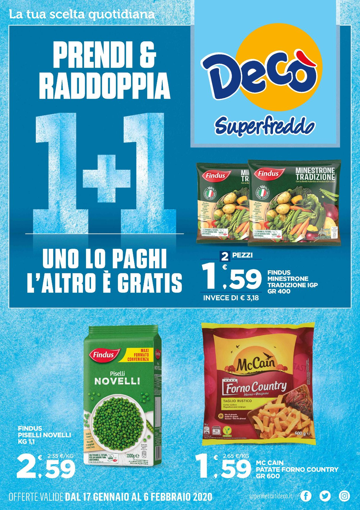 Volantino Deco - Offerte 17/01-06/02/2020