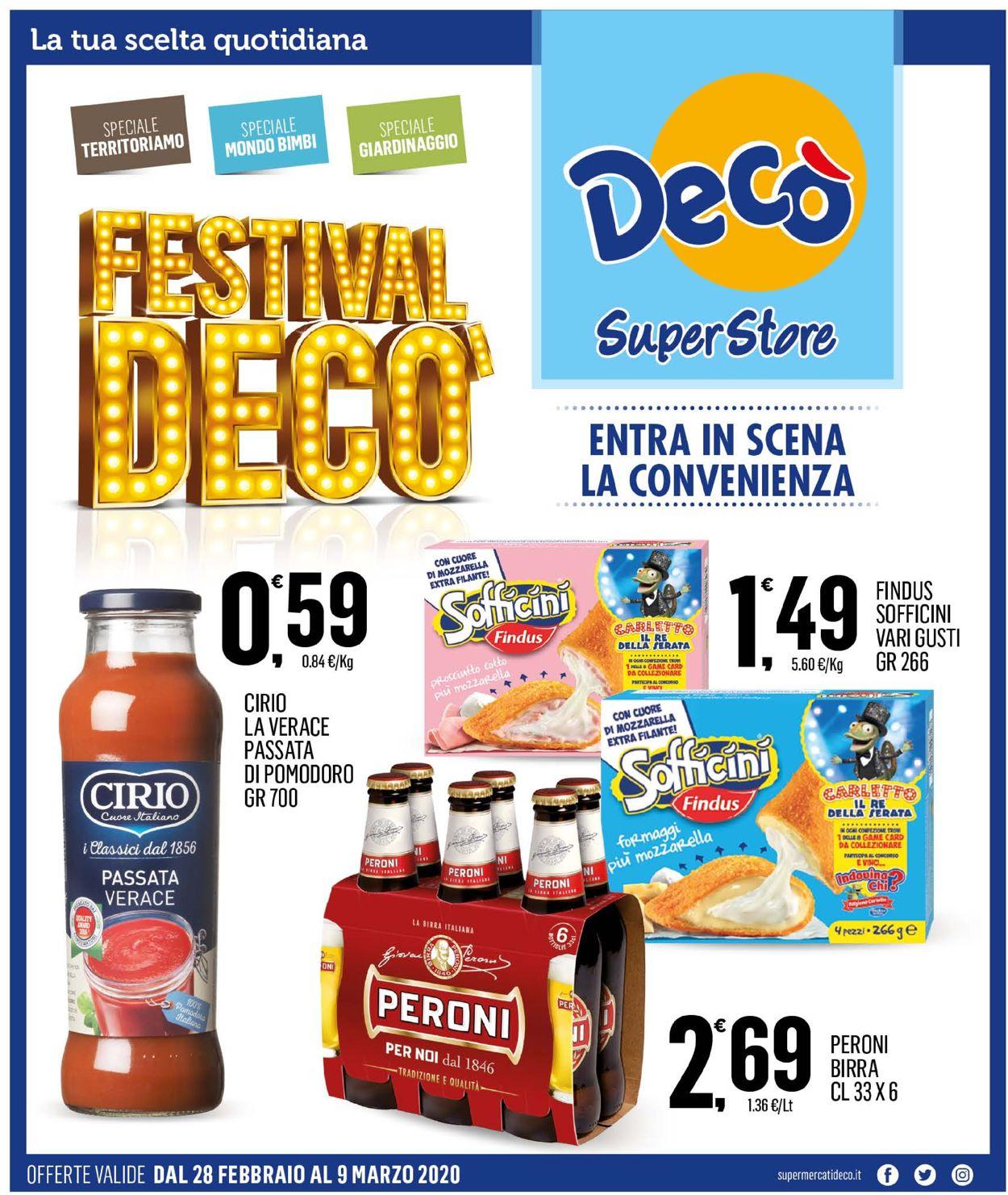 Volantino Deco - Offerte 28/02-09/03/2020