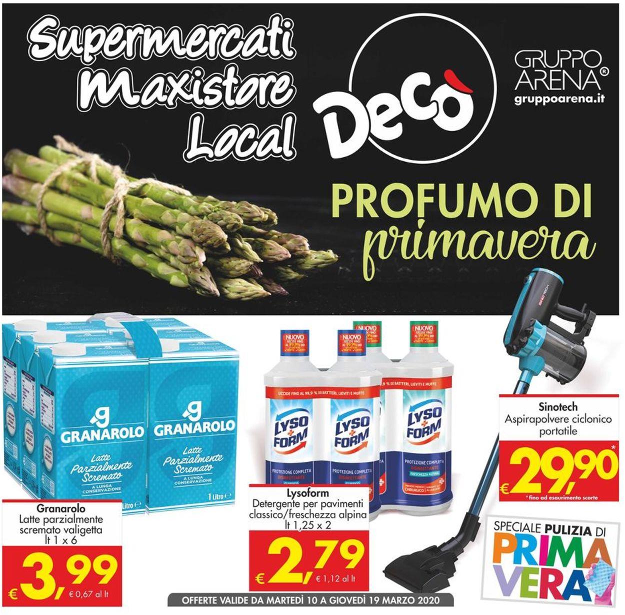 Volantino Deco - Offerte 10/03-19/03/2020