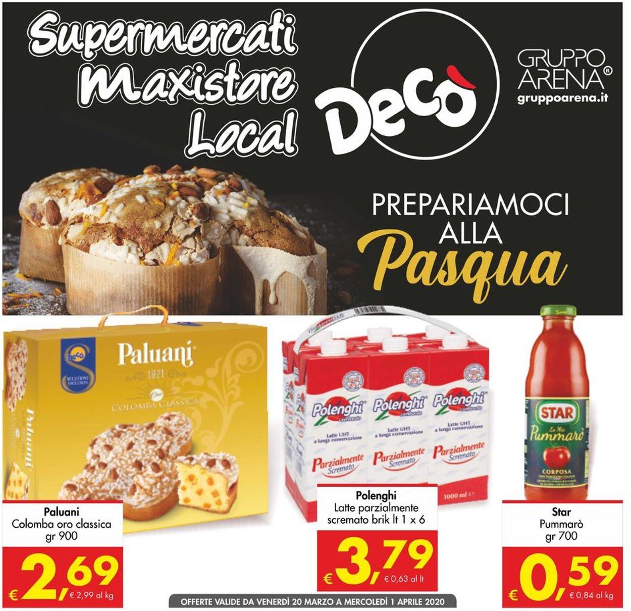 Volantino Deco - Offerte 20/03-01/04/2020