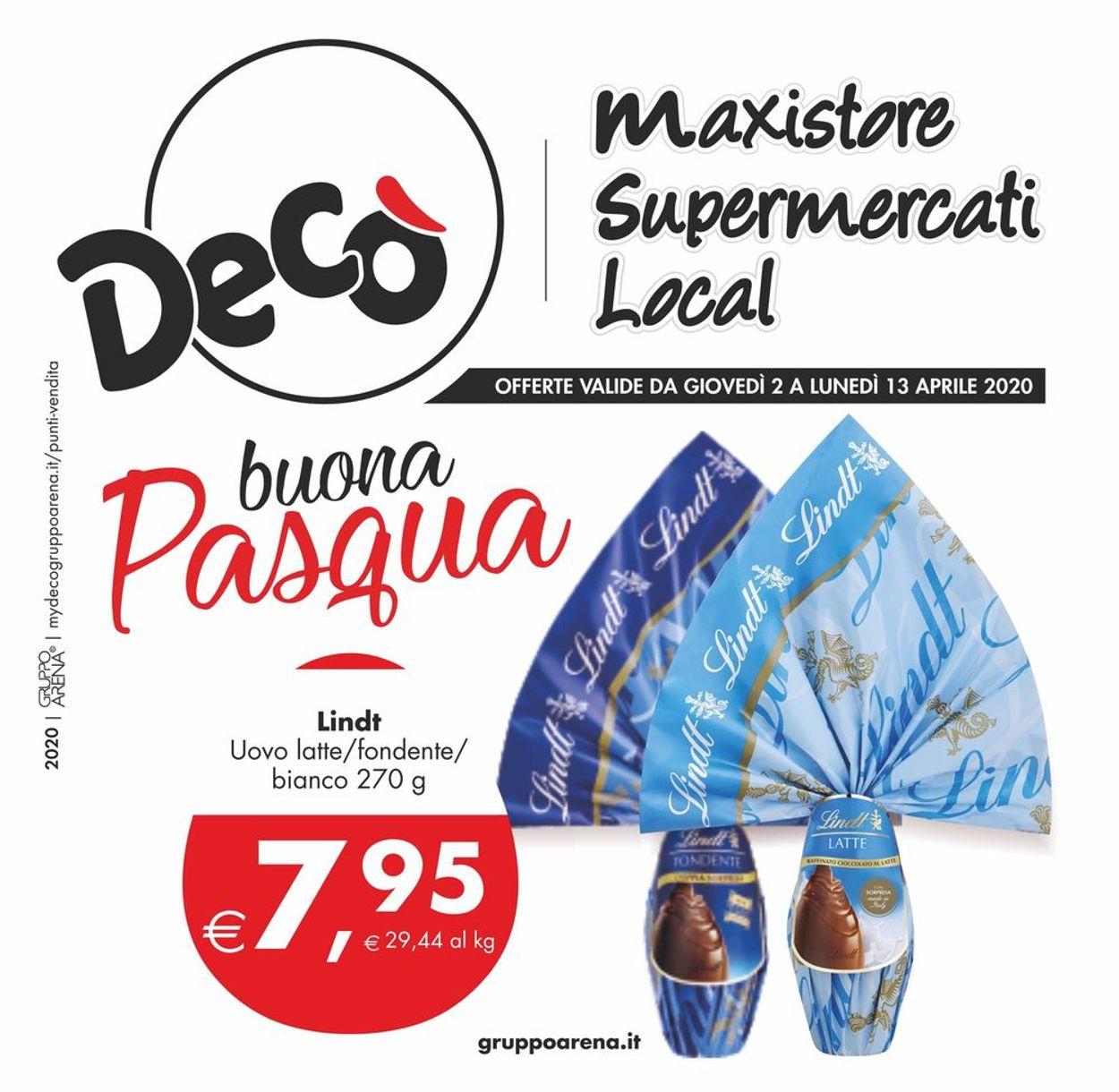 Volantino Deco - Offerte 02/04-13/04/2020