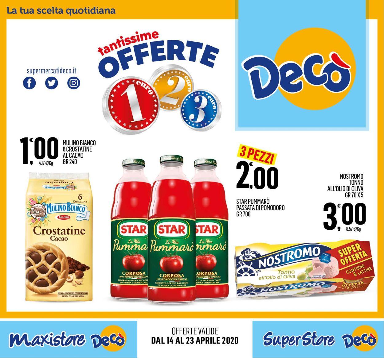 Volantino Deco - Offerte 14/04-23/04/2020