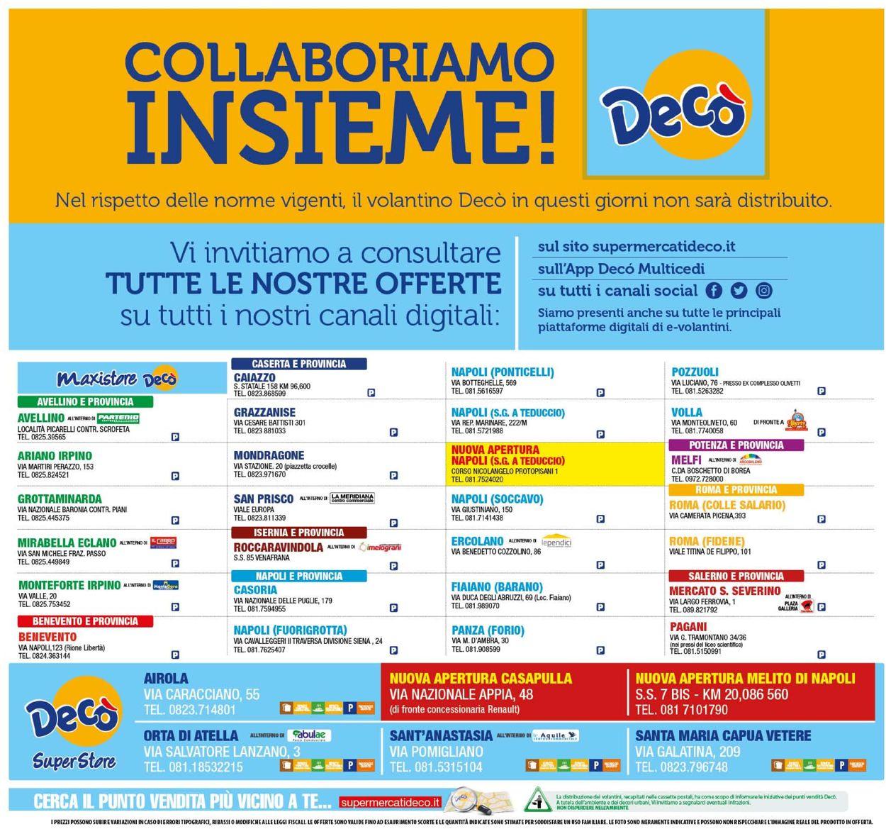 Volantino Deco - Offerte 14/04-23/04/2020 (Pagina 24)