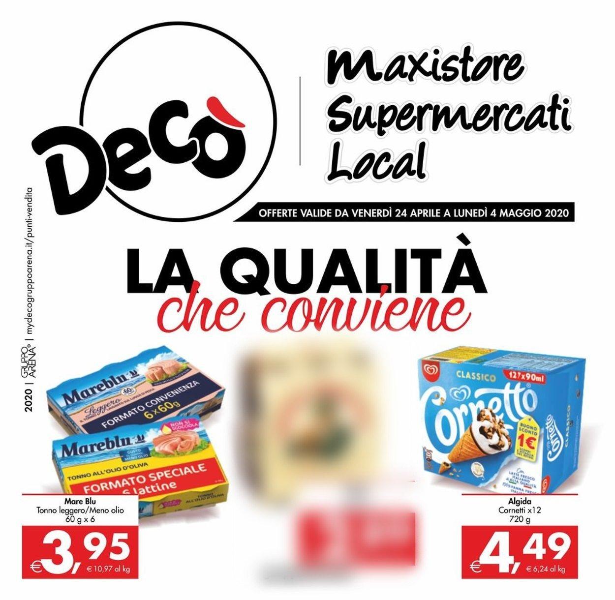 Volantino Deco - Offerte 24/04-04/05/2020