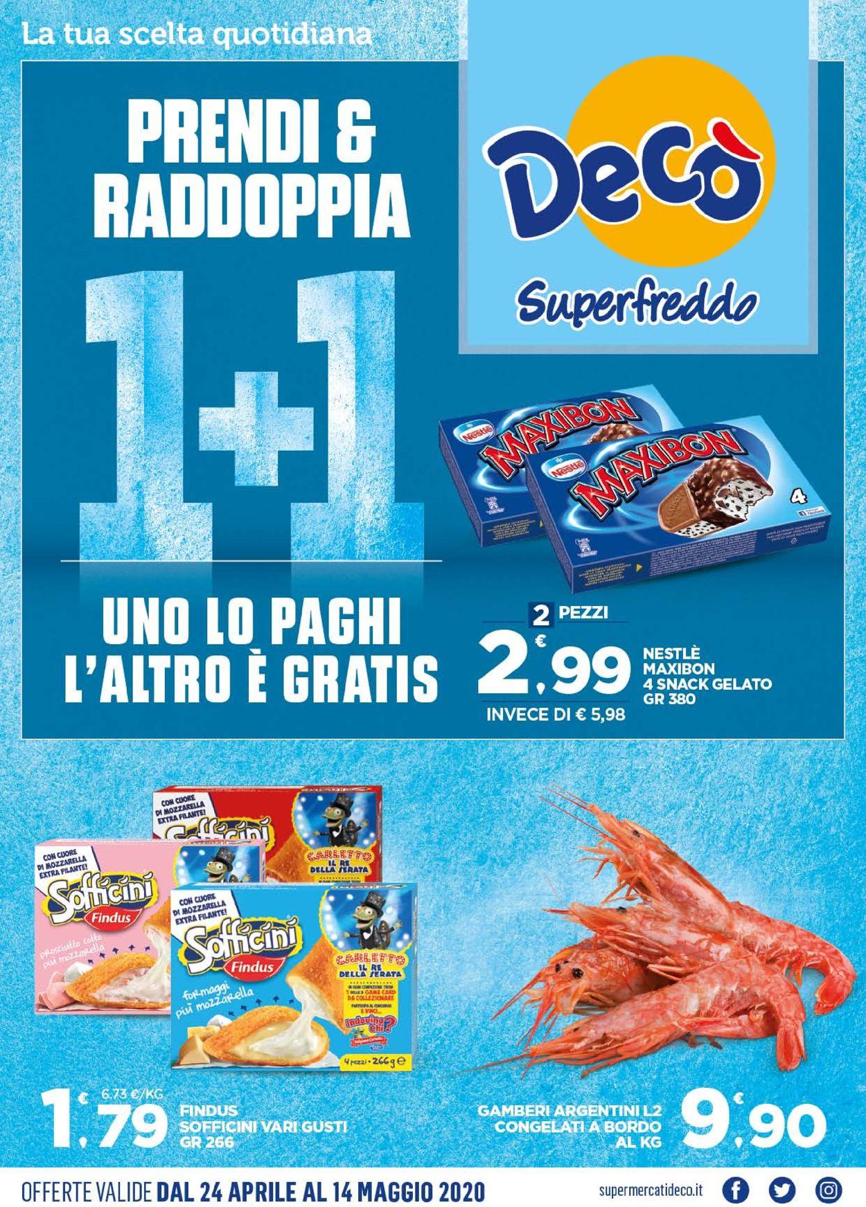 Volantino Deco - Offerte 24/04-14/05/2020