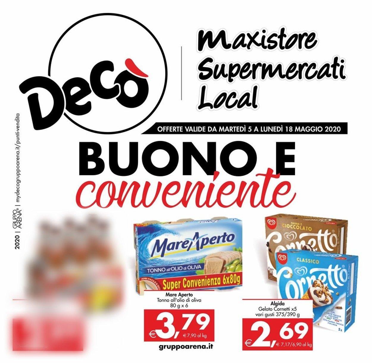 Volantino Deco - Offerte 05/05-18/05/2020