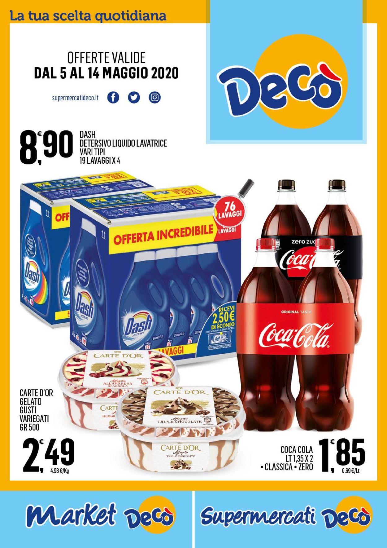 Volantino Deco - Offerte 05/05-14/05/2020