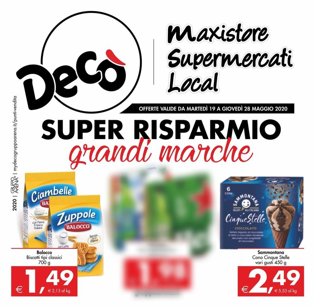 Volantino Deco - Offerte 19/05-28/05/2020