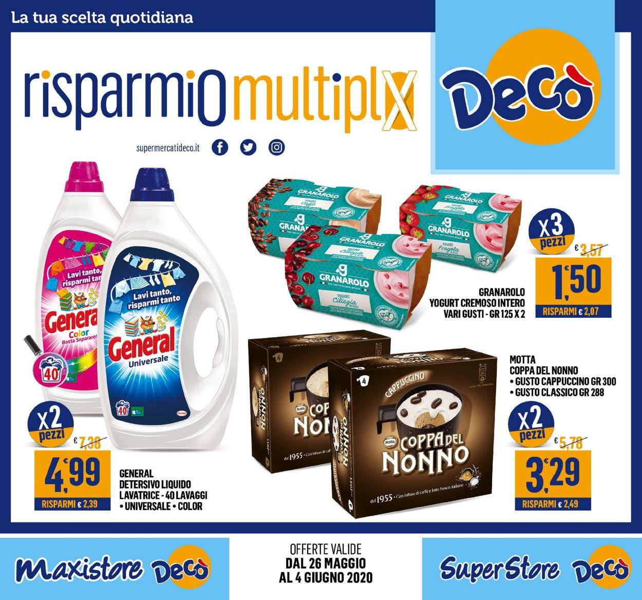 Volantino Deco - Offerte 26/05-04/06/2020