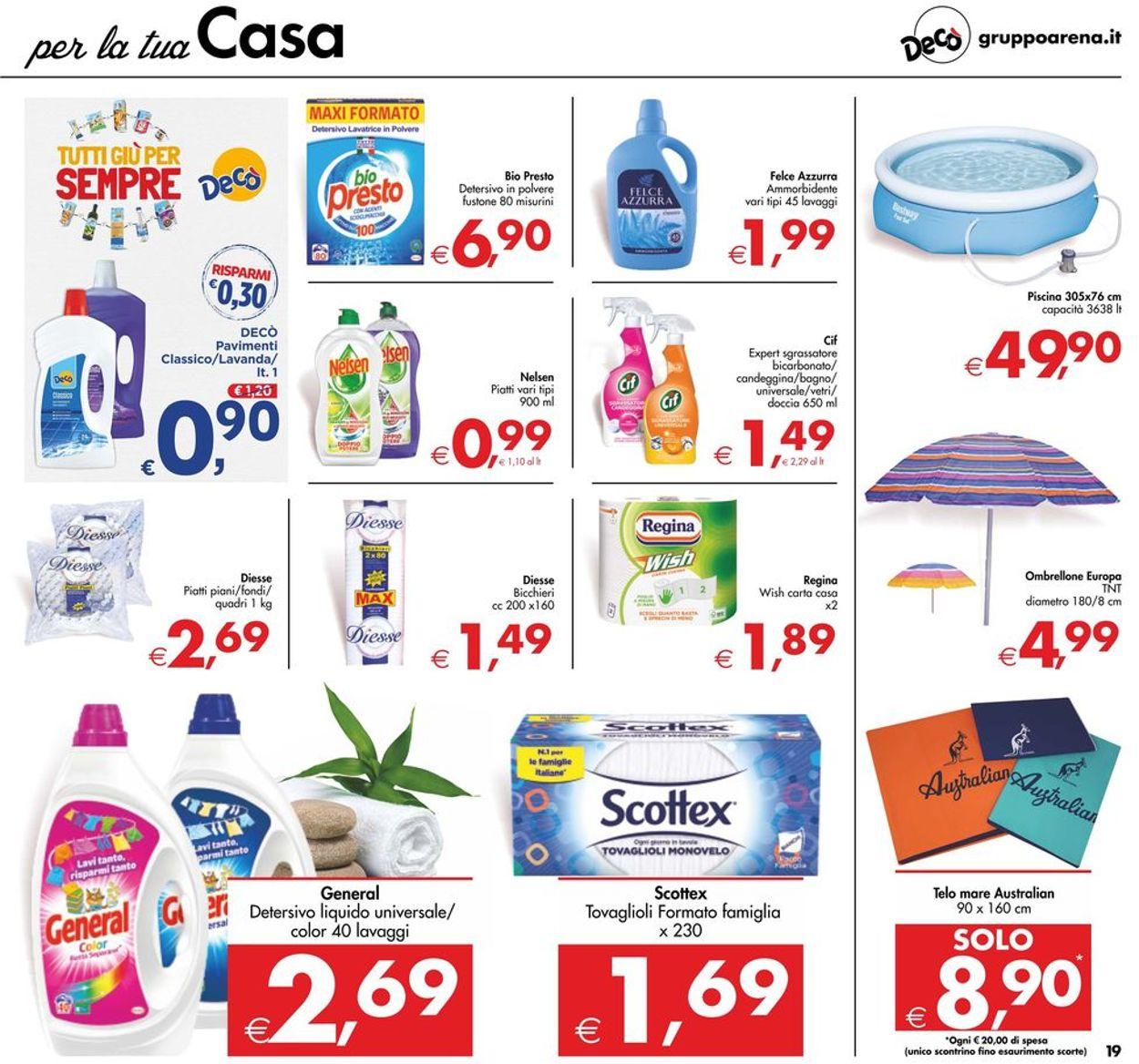 Volantino Deco - Offerte 09/06-17/06/2020 (Pagina 19)