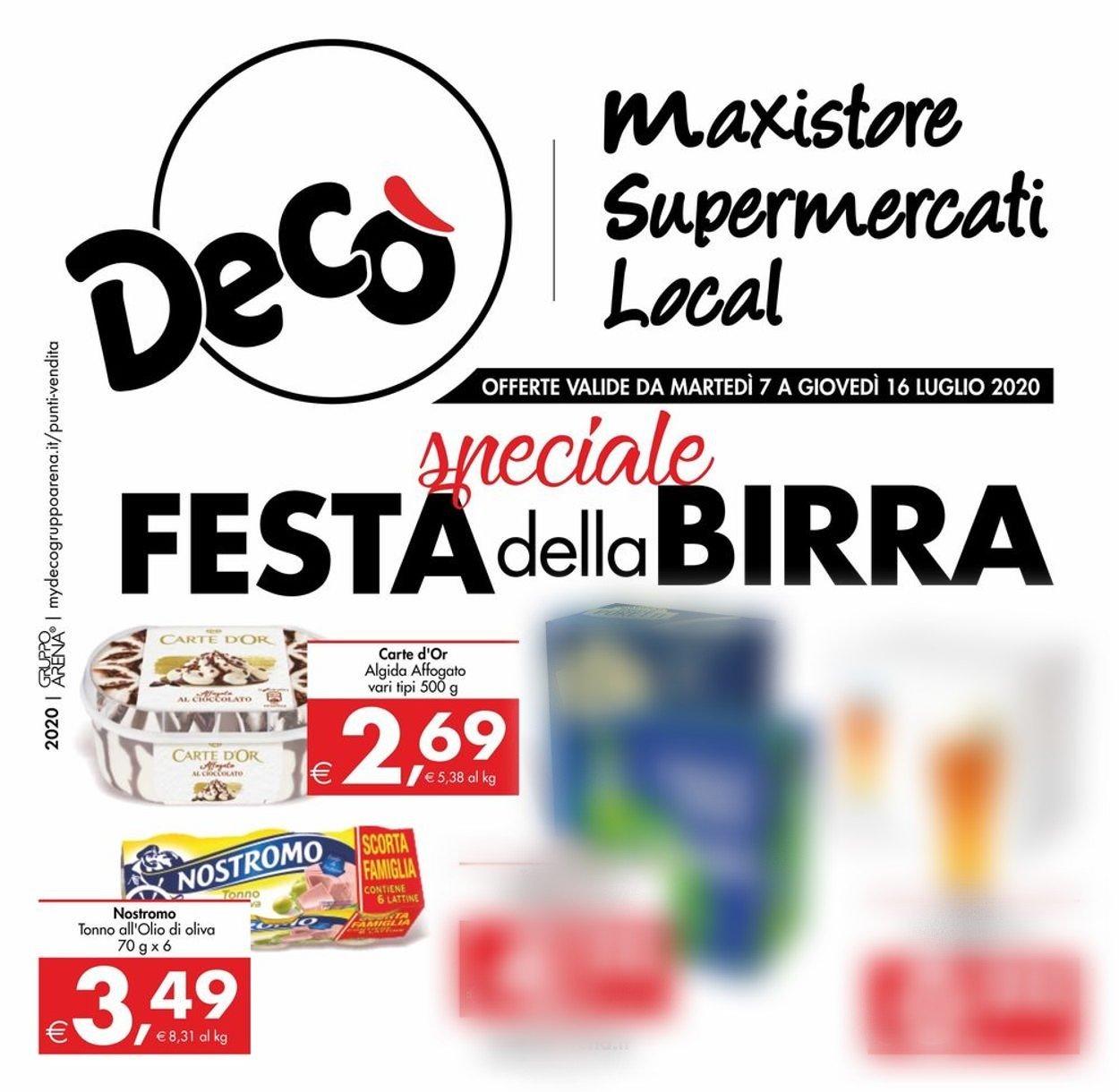 Volantino Deco - Offerte 07/07-16/07/2020