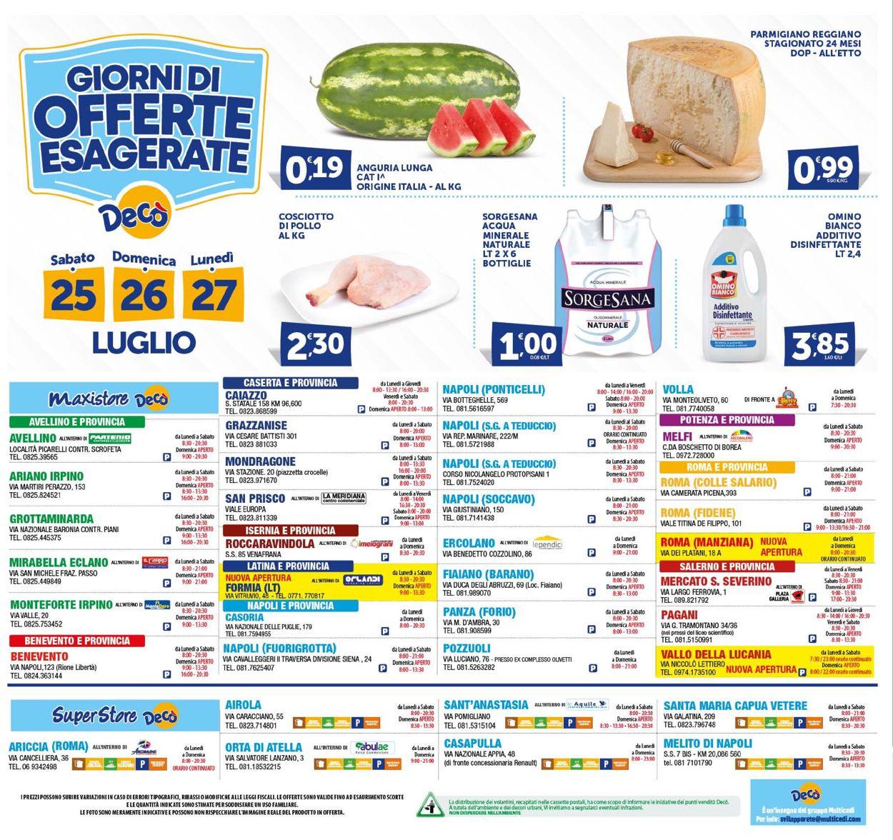 Volantino Deco - Offerte 17/07-27/07/2020 (Pagina 24)