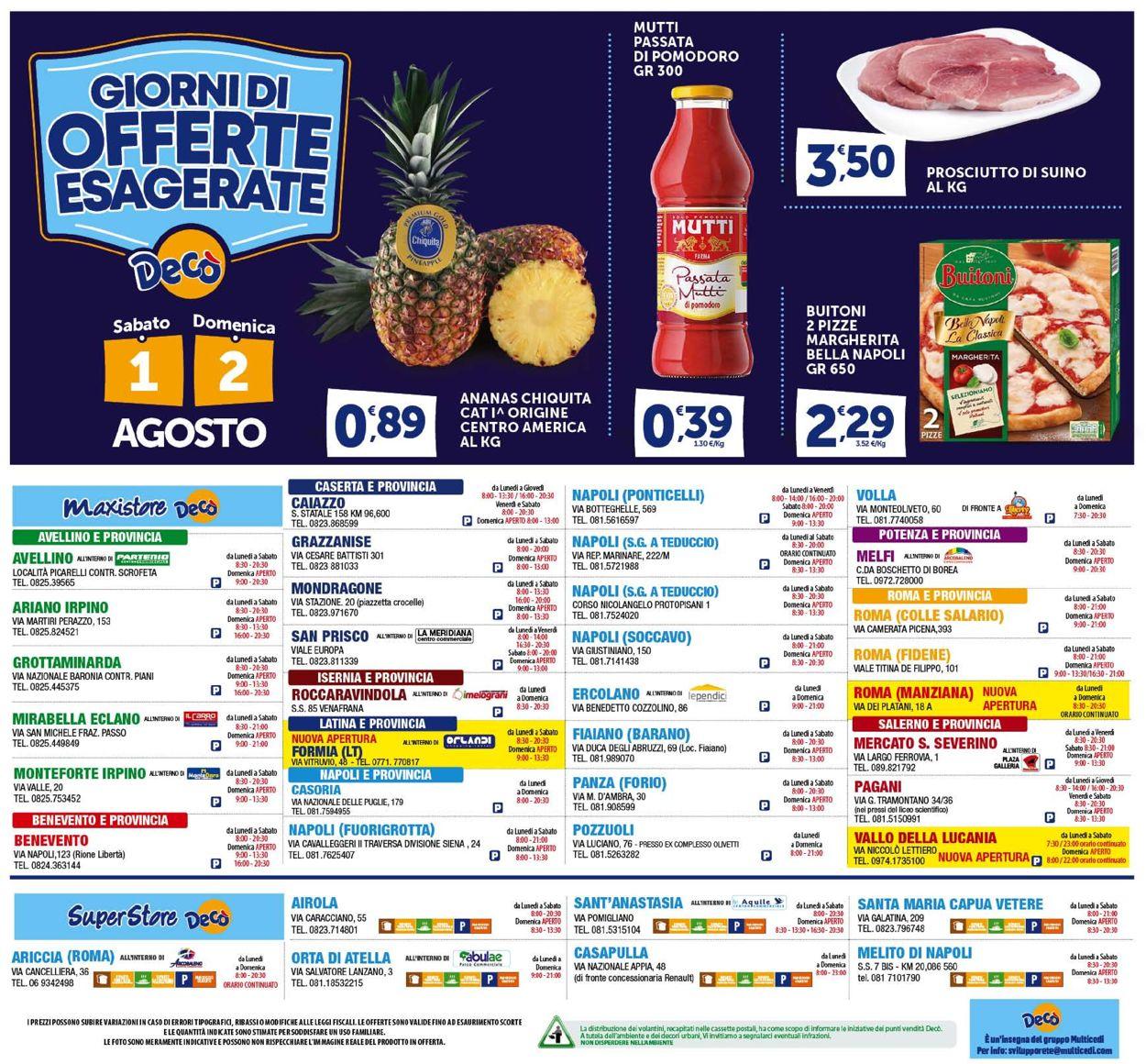 Volantino Deco - Offerte 28/07-06/08/2020 (Pagina 24)
