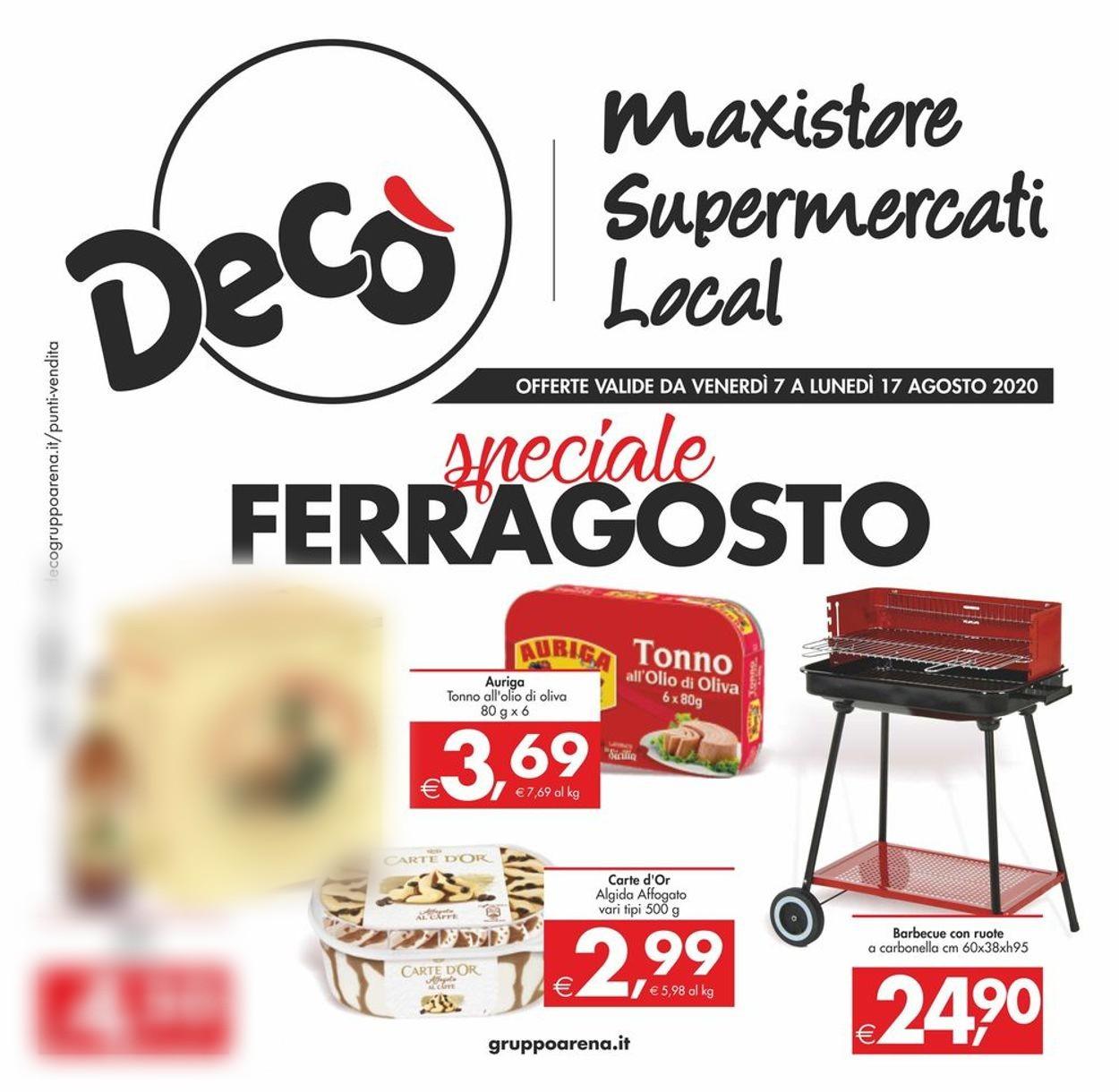 Volantino Deco - Offerte 07/08-17/08/2020
