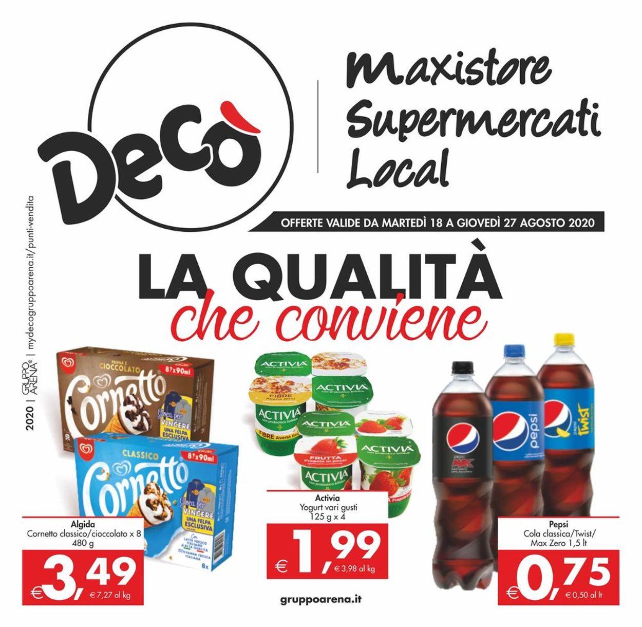 Volantino Deco - Offerte 18/08-27/08/2020