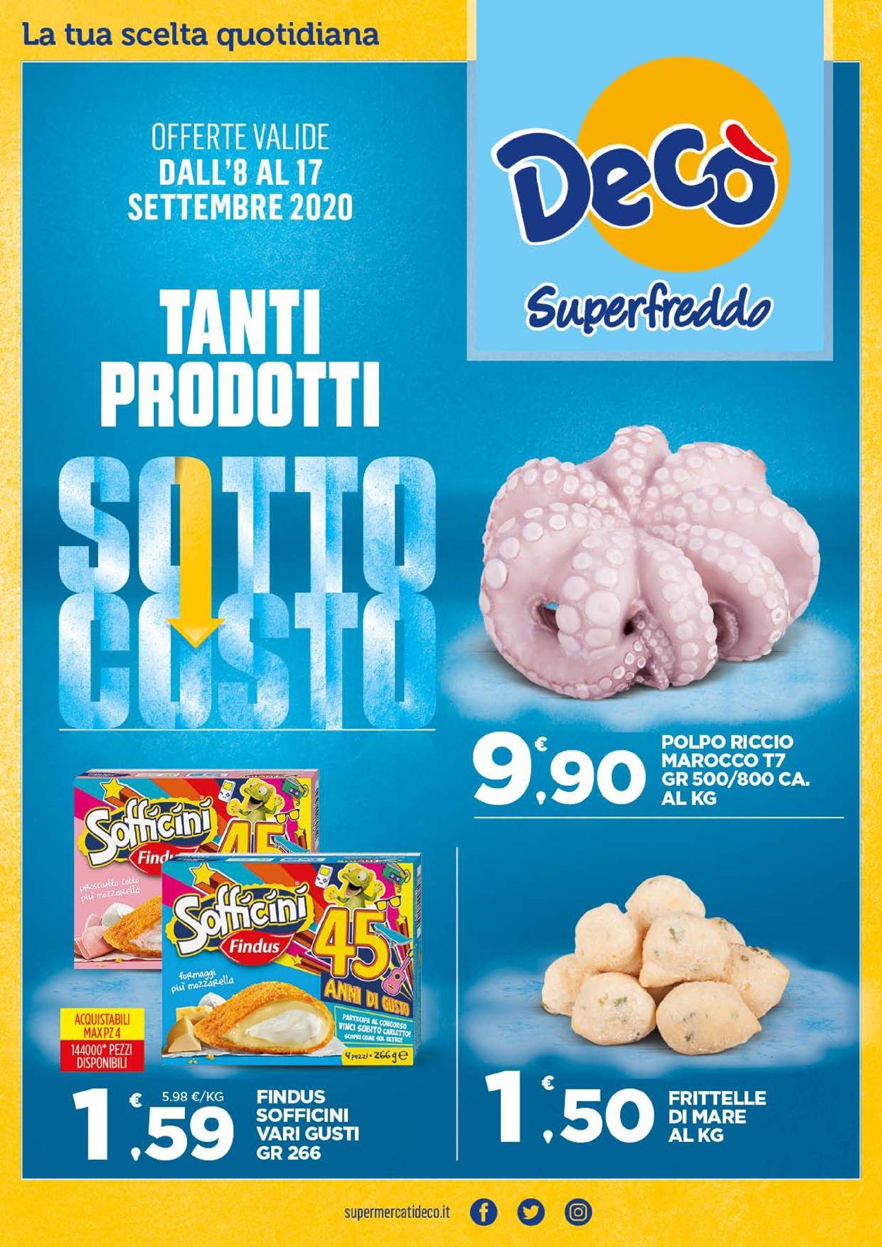 Volantino Deco - Offerte 08/09-17/09/2020
