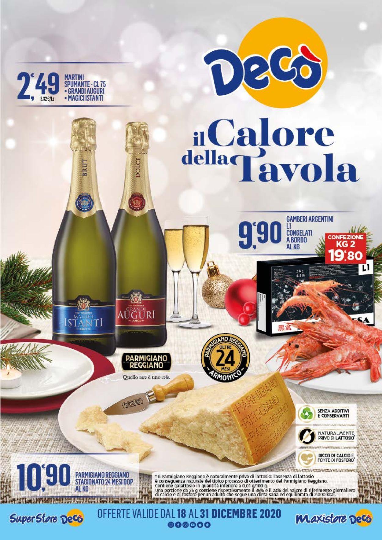 Volantino Deco Natale 2020 - Offerte 18/12-31/12/2020