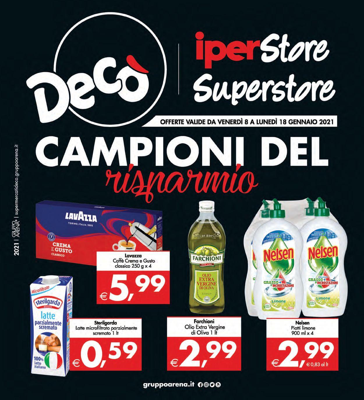 Volantino Deco - Offerte 08/01-18/01/2021