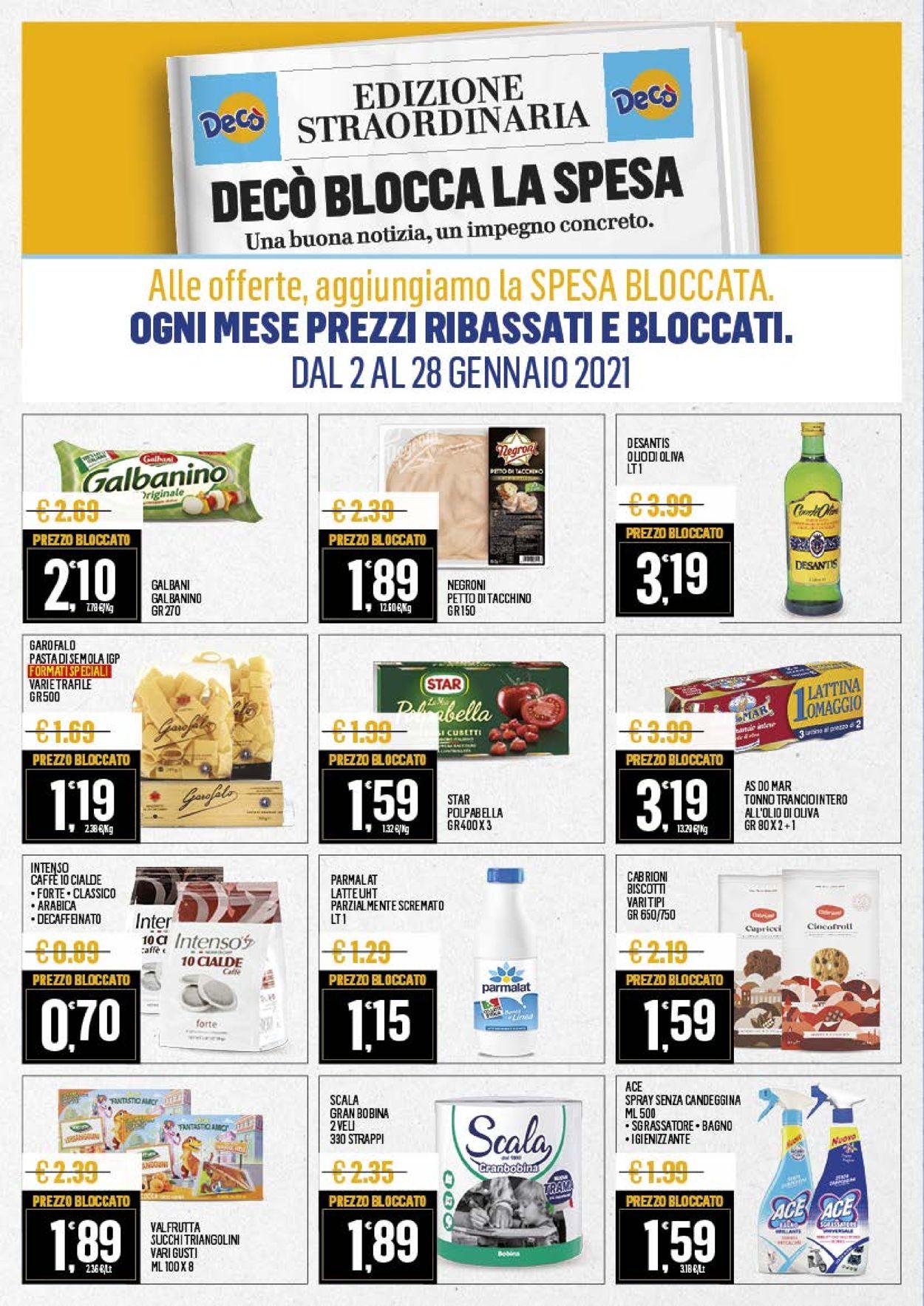 Volantino Deco Market - Offerte 19/01-28/01/2021 (Pagina 4)