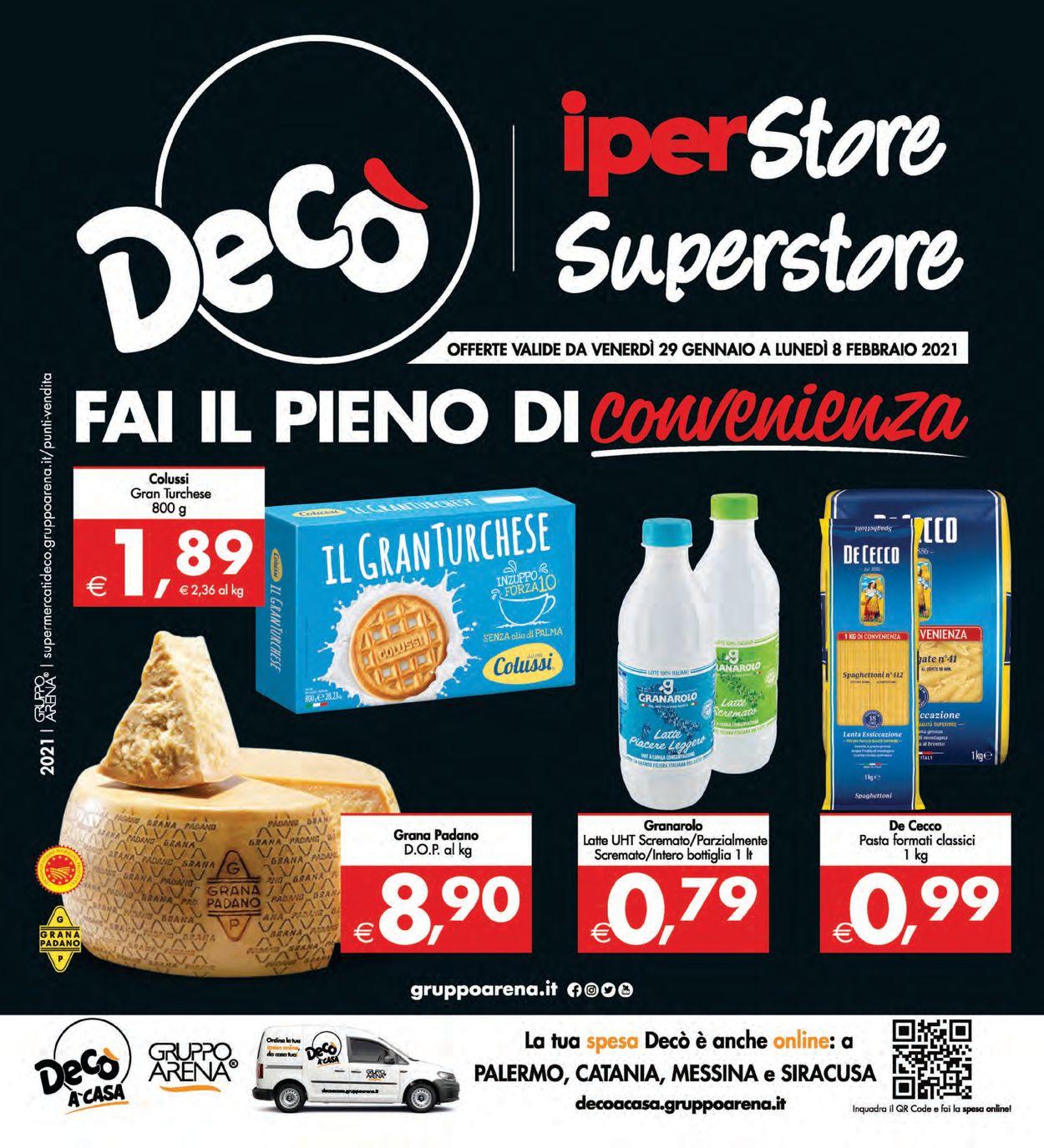 Volantino Deco - Offerte 29/01-08/02/2021