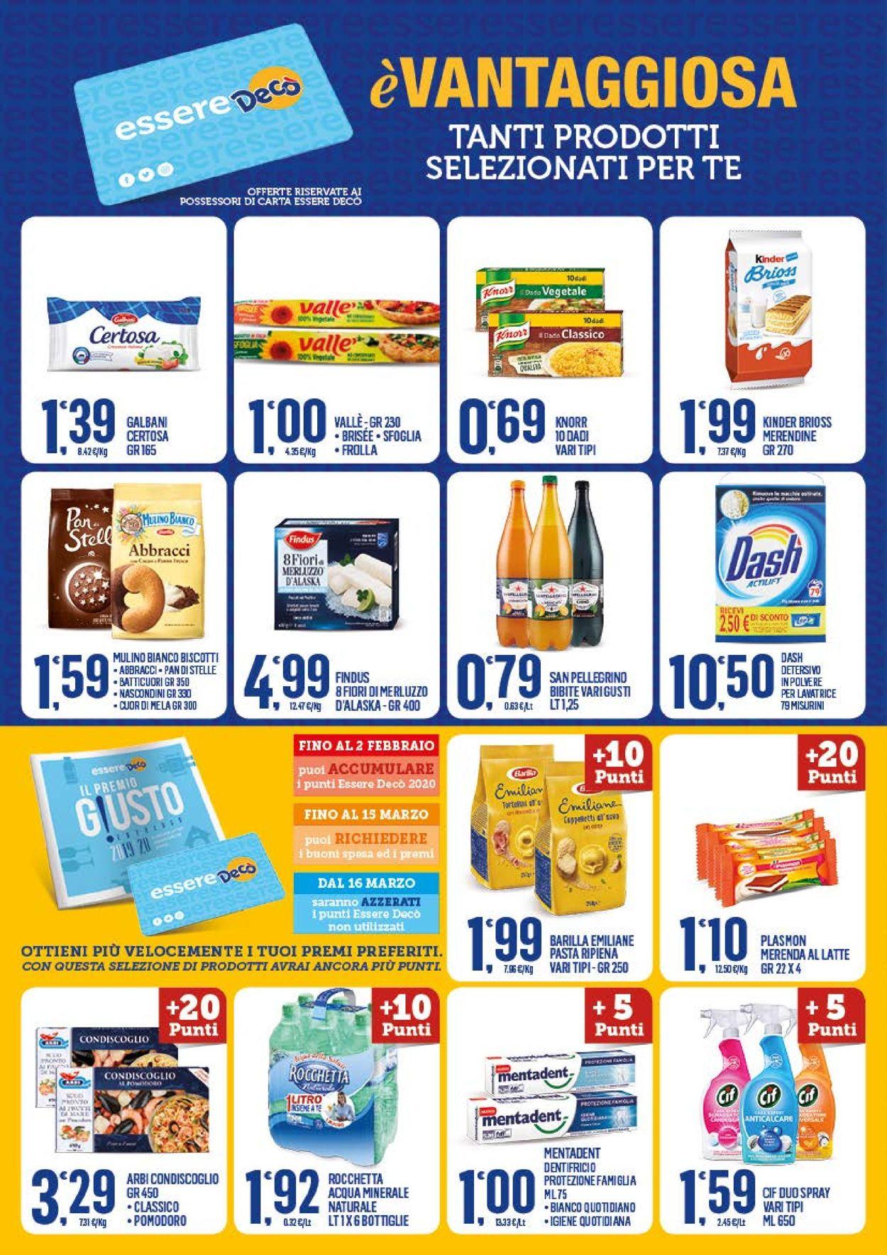Volantino Deco Supermercati - Offerte 29/01-08/02/2021 (Pagina 6)
