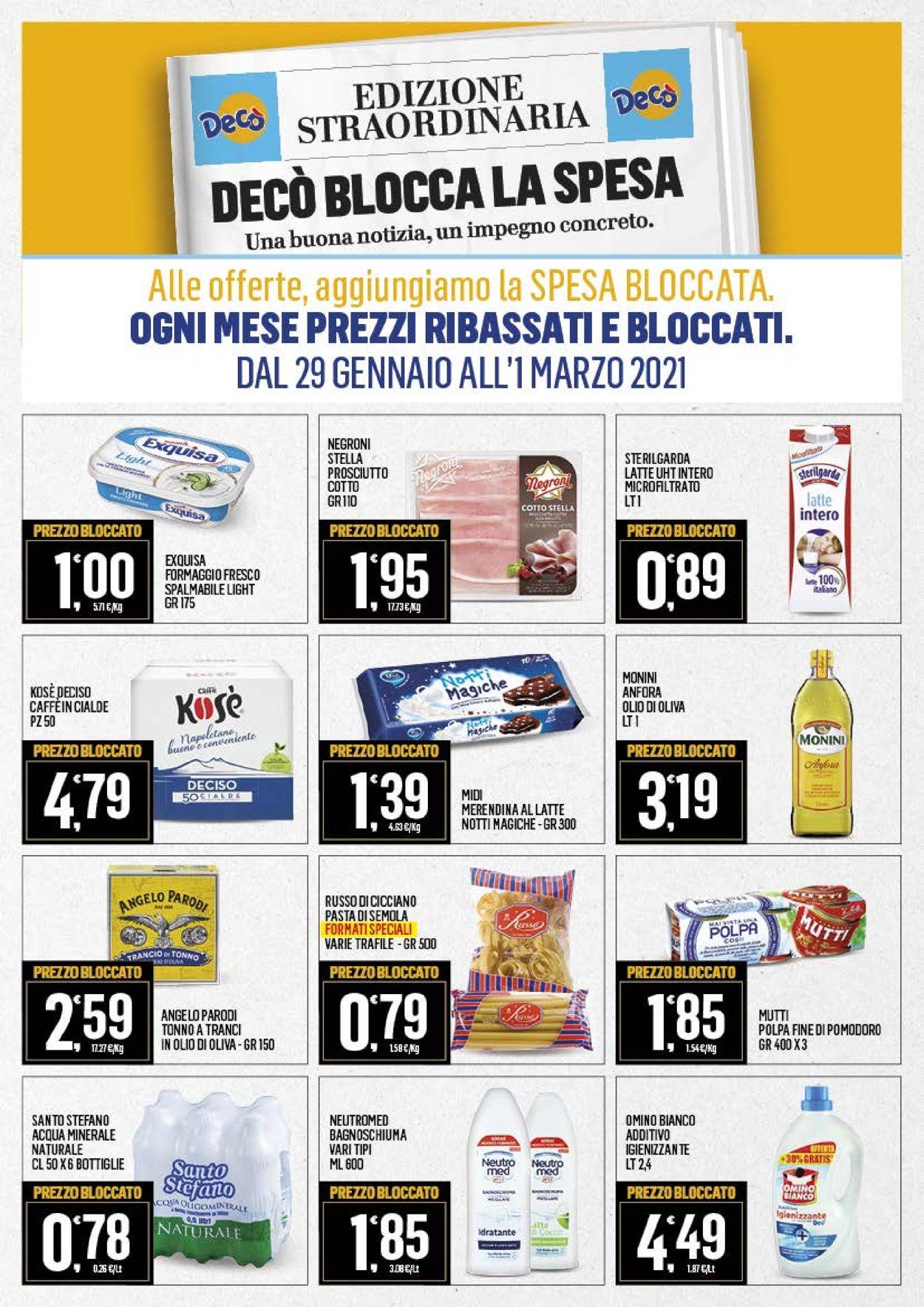 Volantino Deco Market - Offerte 29/01-08/02/2021 (Pagina 8)