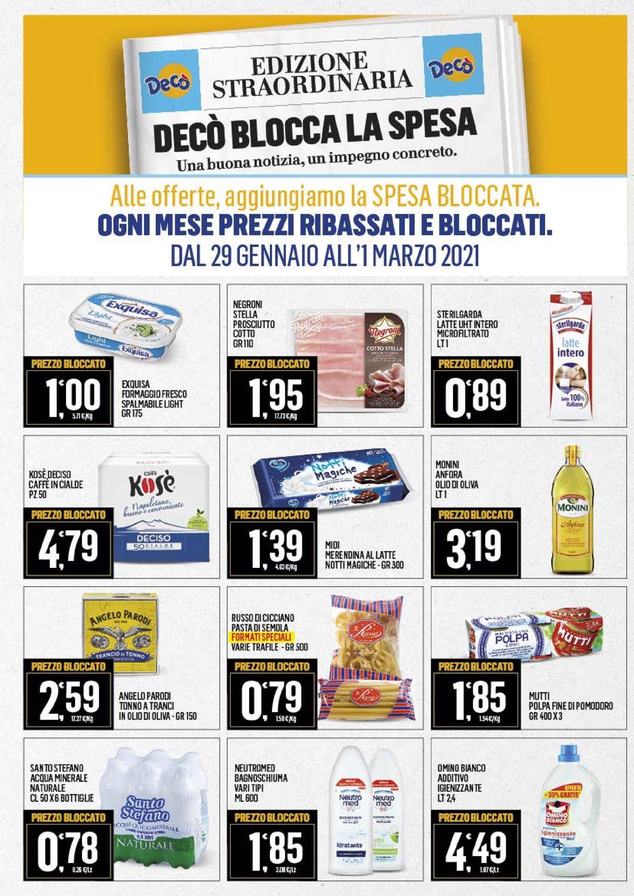 Volantino Deco Market - Offerte 09/02-18/02/2021 (Pagina 17)