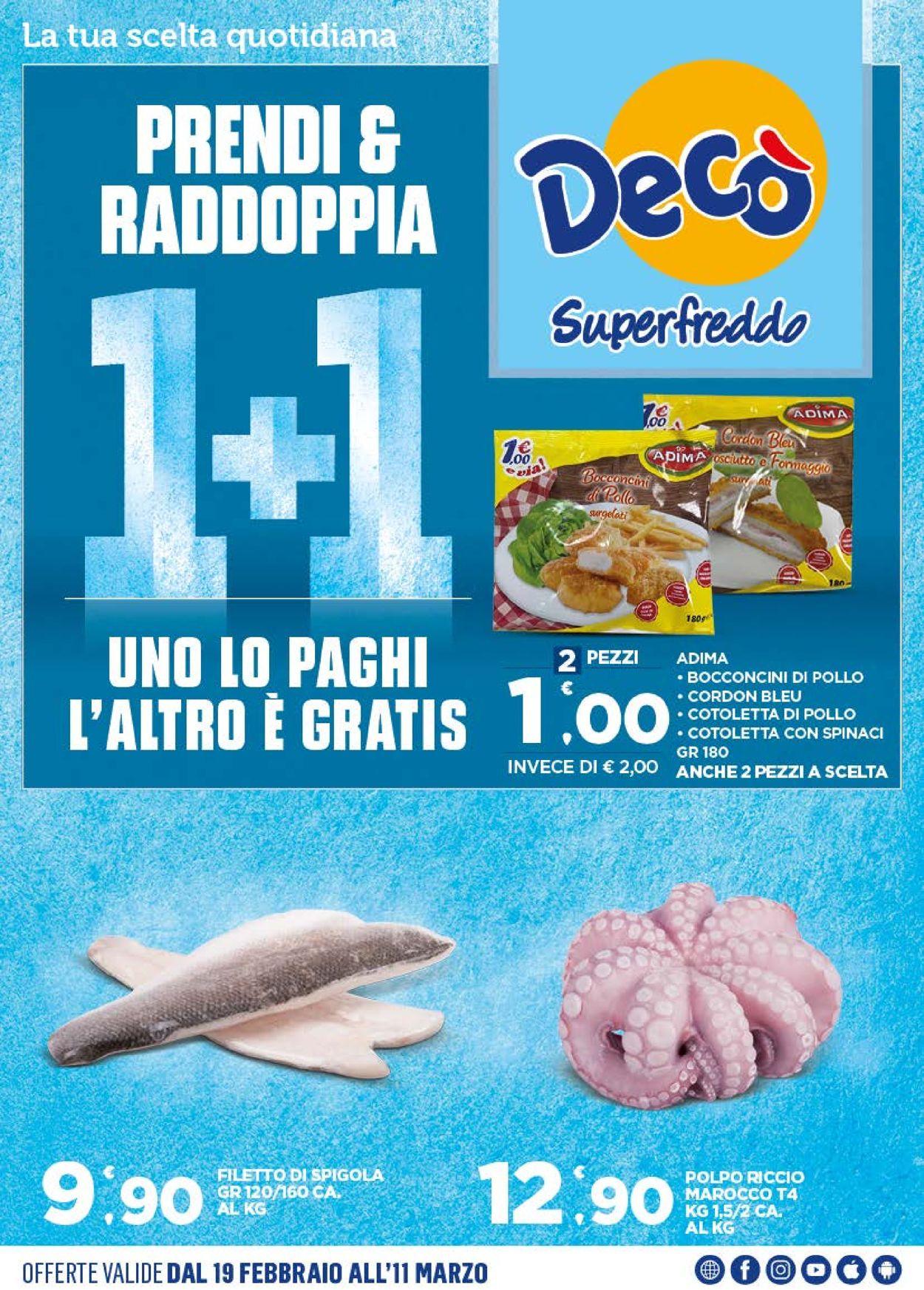 Volantino Deco - Offerte 19/02-11/03/2021