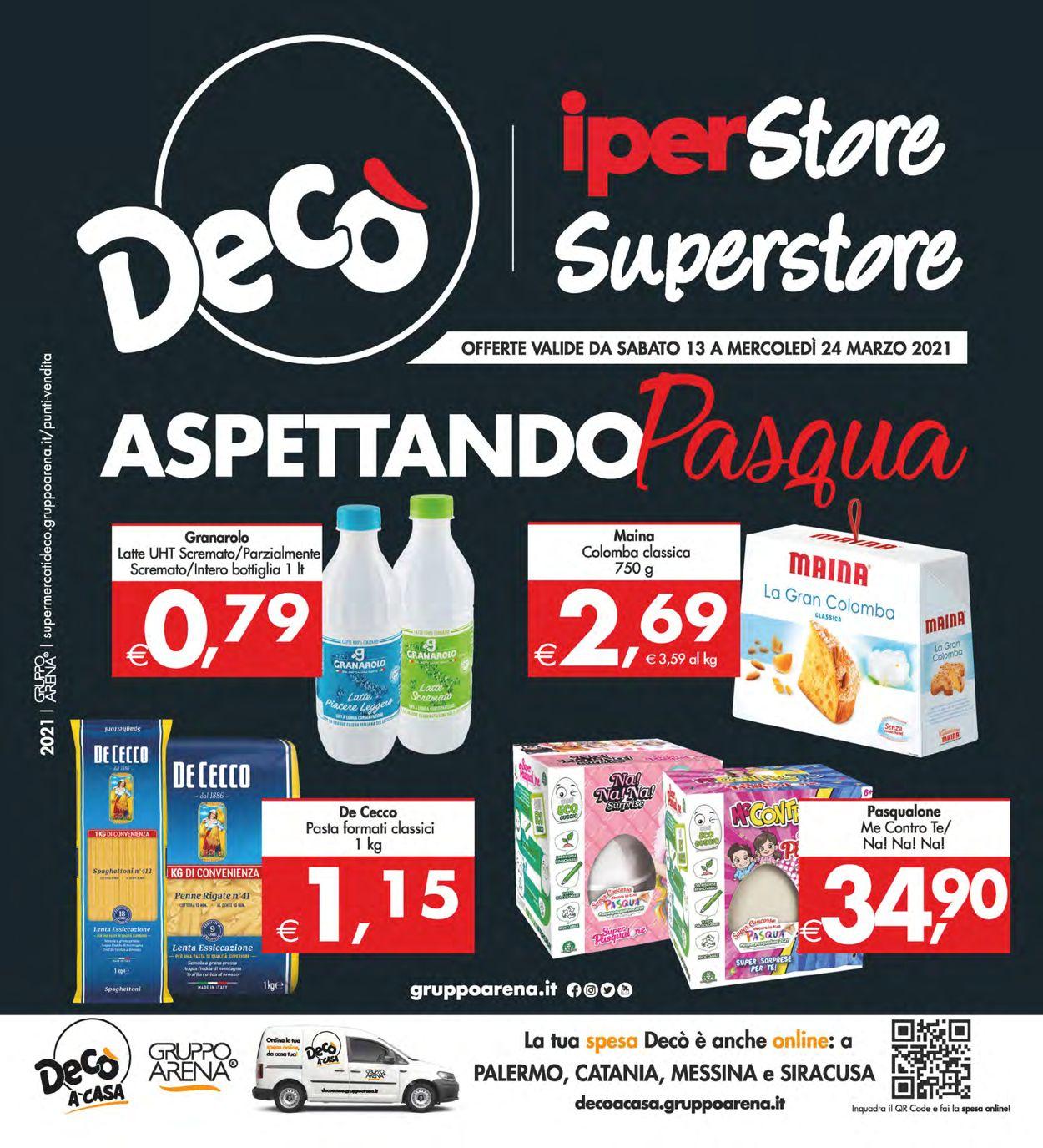 Volantino Deco - Offerte 13/03-24/03/2021