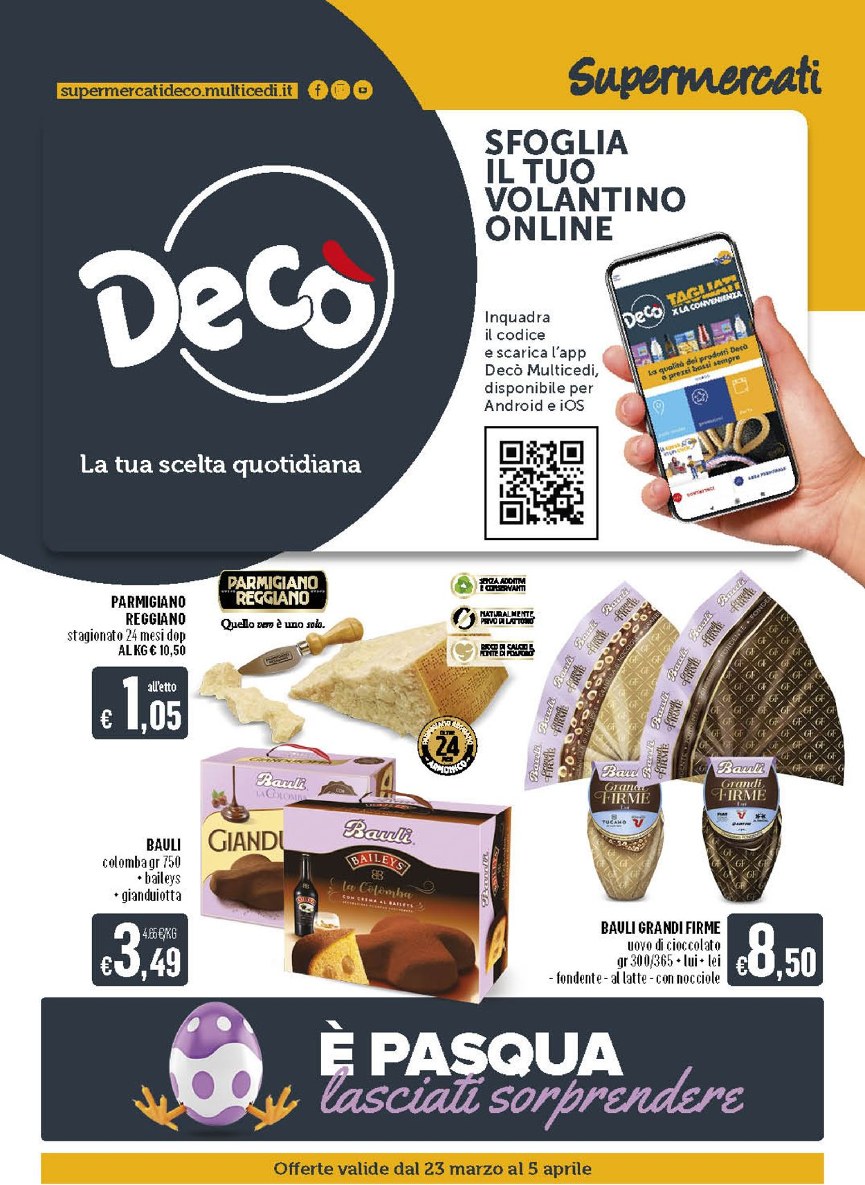 Volantino Deco - Pasqua 2021! - Offerte 23/03-05/04/2021