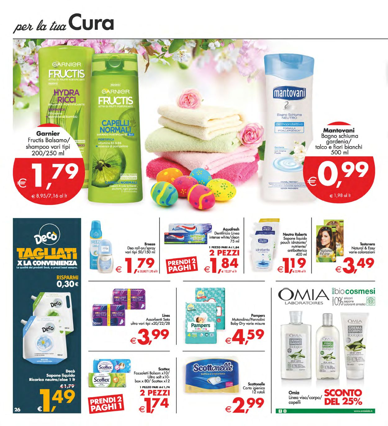 Volantino Deco - Pasqua 2021! - Offerte 25/03-05/04/2021 (Pagina 26)